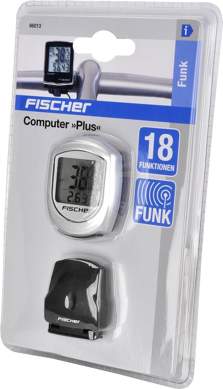 Fischer Funk Plus Computer Silber Schwarz One Size Amazon De