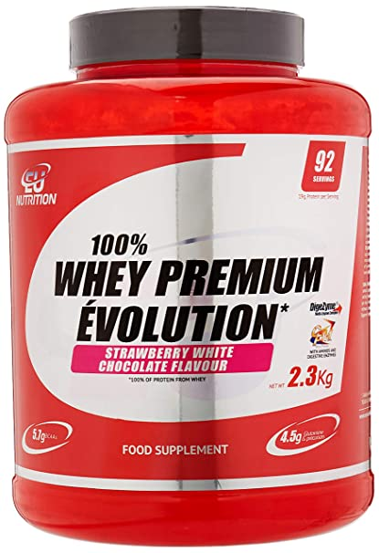 EU Nutrition 100% Whey Premium Évolution White Chocolate con ...