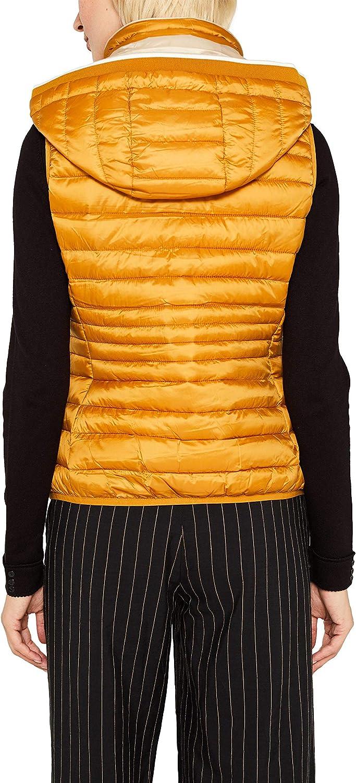 ESPRIT Women's Outdoor Gilet Yellow (Amber Yellow 700)