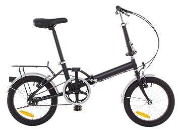 """Omega 16 """" – Accesorio de & plegable para bicicleta guardabarros negro"""
