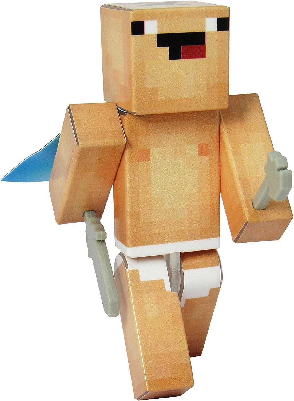 Amazon Com Endertoys Birthday Suit Noob Action Figure Toy 4 Inch