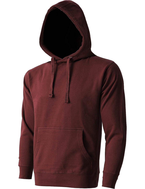 Hat and Beyond Mens Pullover Hoodie Heavyweight Fleece Pocket Long Sleeve Active Hooded Sweatshirts