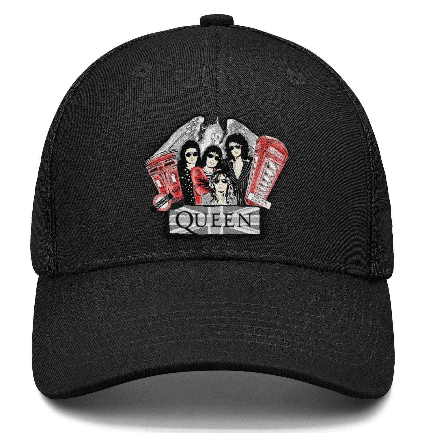 MUSOWIC Mens Womens Queen-Band-Autograph-Sign Cap Fashion Hat Running Caps