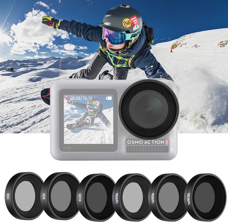 Neewer 6 Pack Filtersatz Kompatibel Mit Dji Osmo Action Kamera