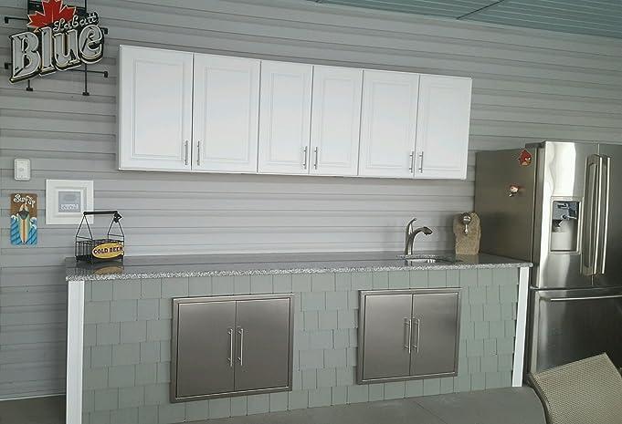 Amazon BBQ ACCESS DOOR NEW Elegant 39 Inch 304 Grade Stainless Steel Bbq Island Outdoor Kitchen Access Doors DOUBLE WALLED Includes Convenient Built
