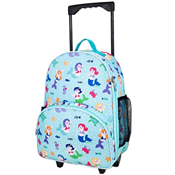 Amazon.com: Olive Kids Mermaids Rolling Luggage: Toys & Games