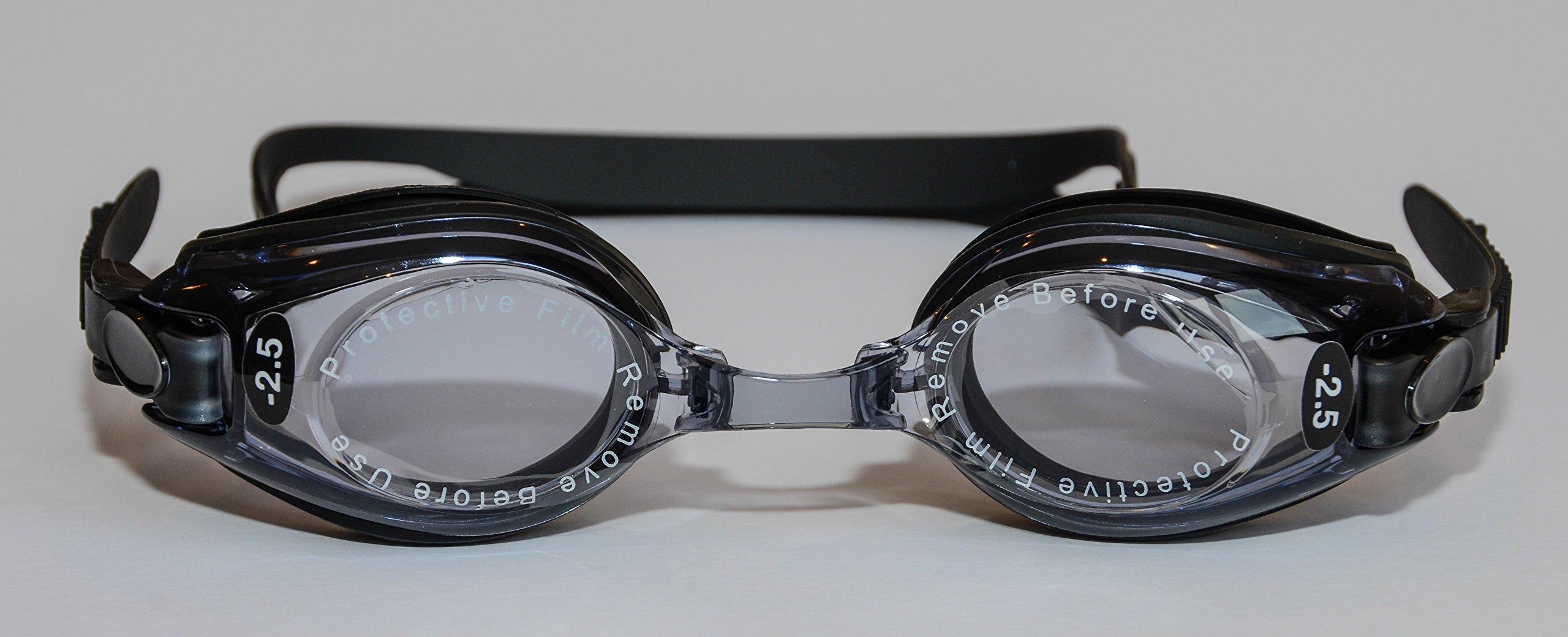 Sports Vision's Prescription Optical Swimming Goggles +2.00 Kids