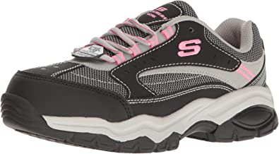 Ardiente matriz Definitivo  Amazon.com: Skechers for Work Women's Bisco Slip Resistant Work Shoe: Shoes