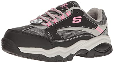 324cdfcc6b868 Amazon.com: Skechers for Work Women's Bisco Slip Resistant Work Shoe ...