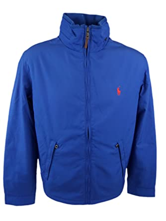 1de219e0 Polo Ralph Lauren Mens Perry Lined Winter Jacket (Large, Royal Blue)