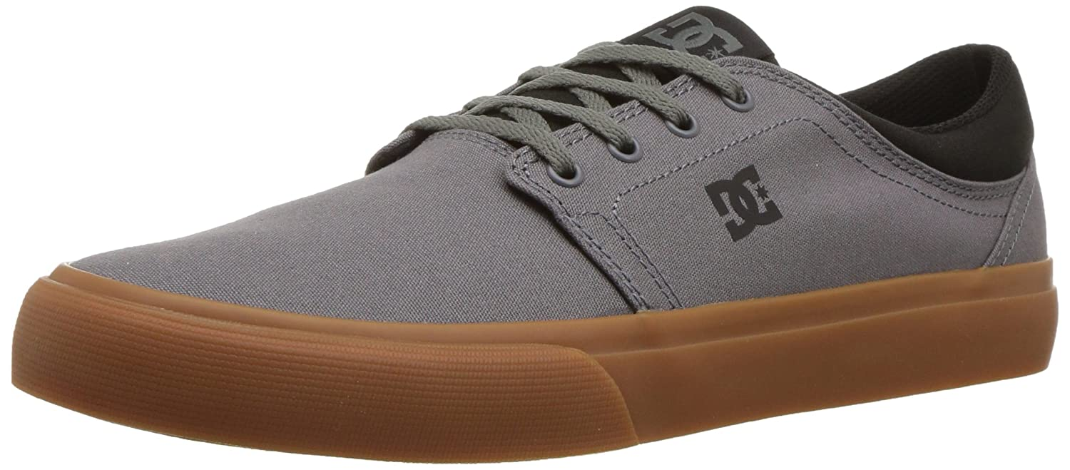 DC Men's Trase TX 7.5 Unisex Skate Shoe B0758TF8NK 7.5 TX D D US|Dark Grey/Black 721b45