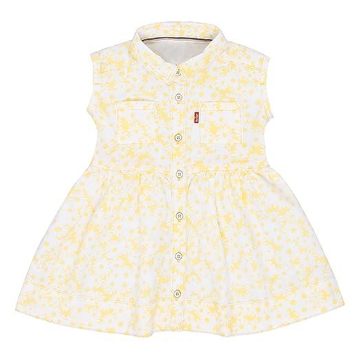 ba7eb80d10f0c Amazon.com  Levi s Baby Girls  Sleeveless Dress  Clothing