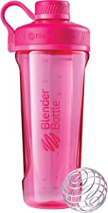 BlenderBottle Radian Tritan Shaker Bottle, Pink, 32-Ounce