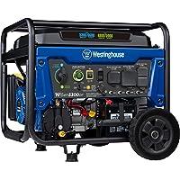 $429 » Westinghouse WGen5300DF Dual Fuel Portable Generator with 120/240 Volt Selector 5300…