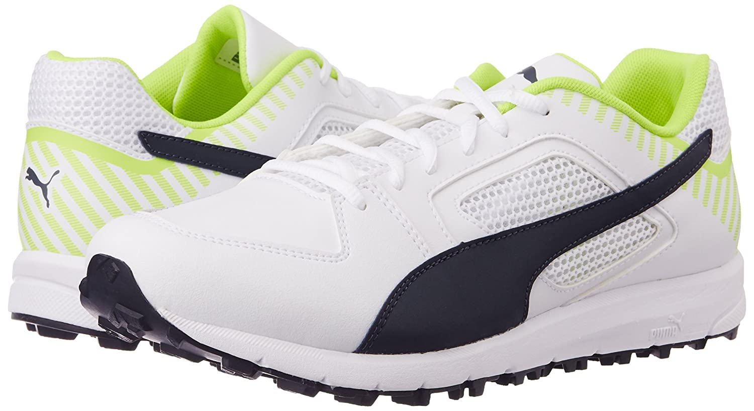 b27be1be379c1 Amazon.com : PUMA Team Rubber Cricket Shoes US 9- UK 8 : Sports ...