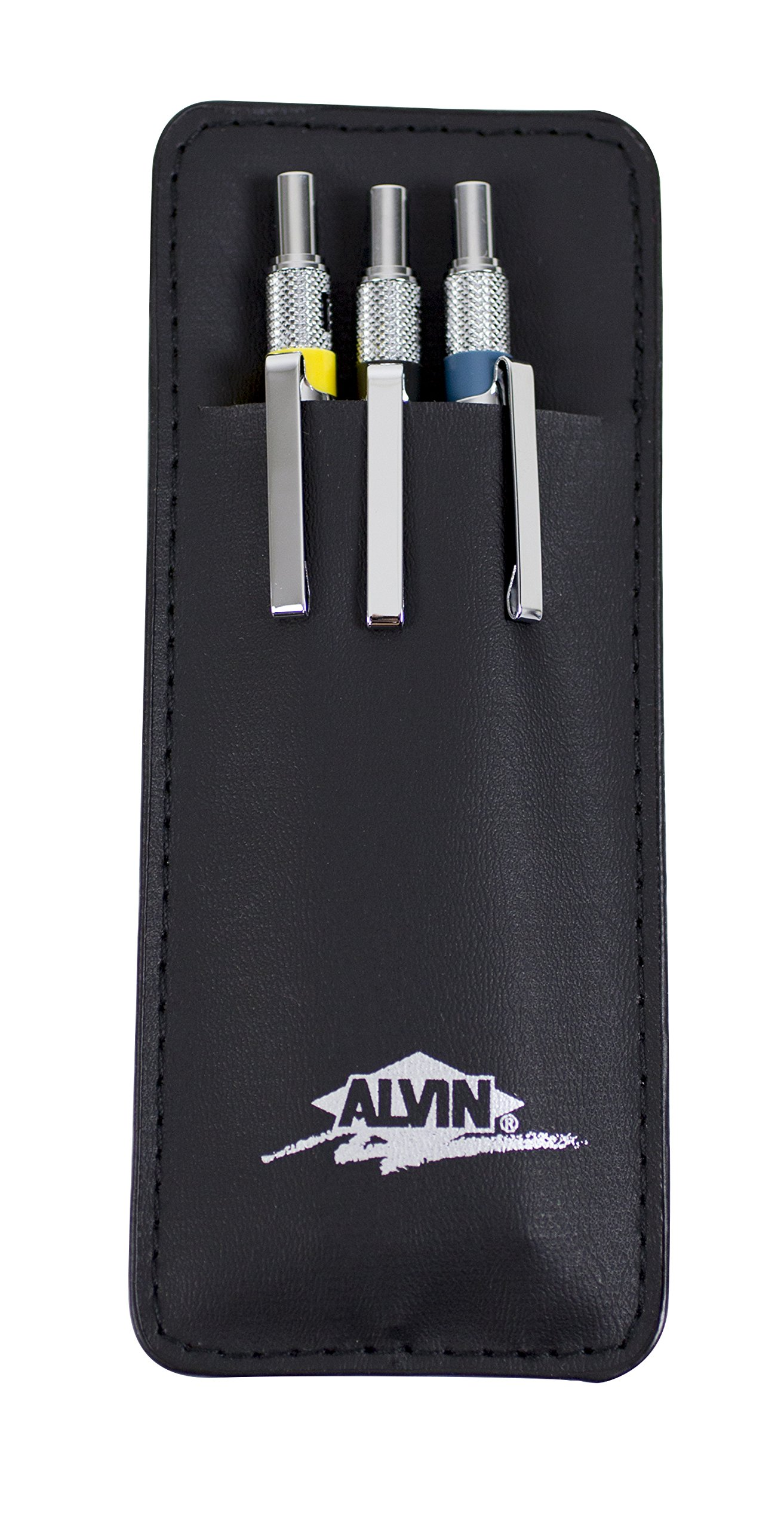 Alvin, Draft-Matic Mechanical Pencil, Set of 3, 0.3mm, 0.5mm and 0.7mm by Alvin