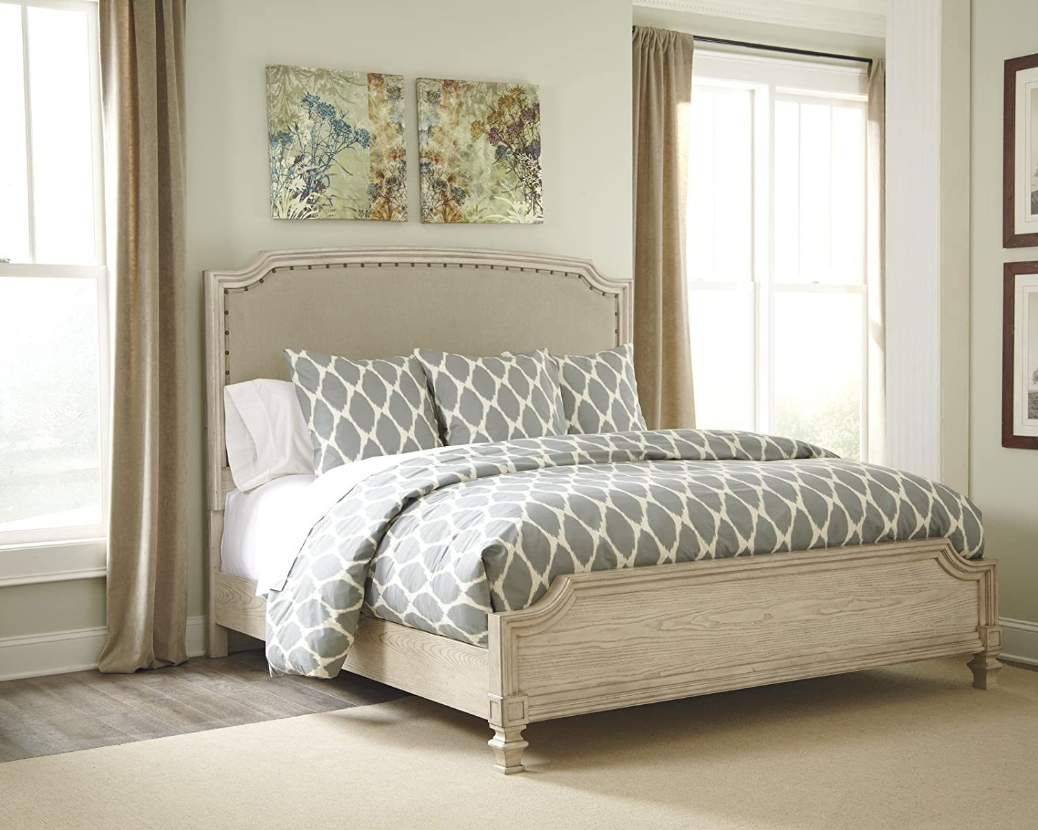 Ashley B693 Demarlos 4 pc King Bedroom Set - In Home White Glove Delivery  Included