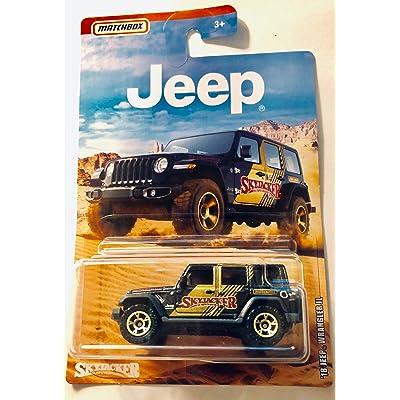 2020 Matchbox Jeep Series '18 Jeep Wrangler JL Black Skyjacker: Toys & Games