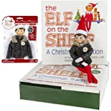 Elf on the Shelf Holiday Gift Bundle: Boy Scout Elf (Blue Eyes), Christmas Tradition Storybook, and Puffy North Pole Parka