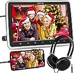 WONNIE 10.5'' Car DVD Player with Headrest Mount, HDMI Input, 1080P