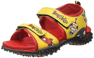 Liberty Boy's RICO-1 Yellow Sandals-13
