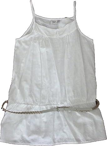Creem - Blusa de Tirantes - Camisas - para niña Blanco 12 años: Amazon.es: Ropa y accesorios