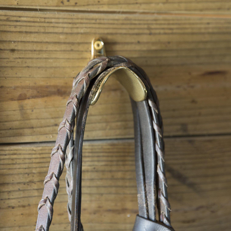 Intrepid International English Saddle Brass Bridle Hook