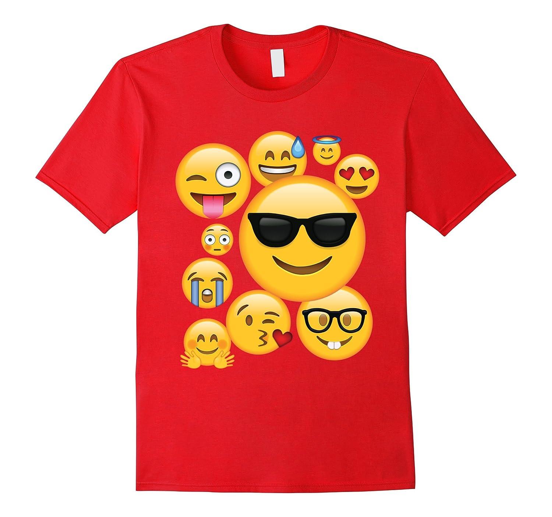 Emoji Pack ComboT-shirt Emoticon Smily Face Tshirt.-BN