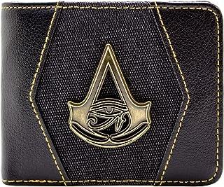 Assassins Creed Origins Cresta d'oro Nero Portafoglio 30813