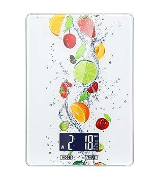 Camry Carga USB Báscula de Cocina Digital, multifunción, Báscula para Alimentos, Baking Scale