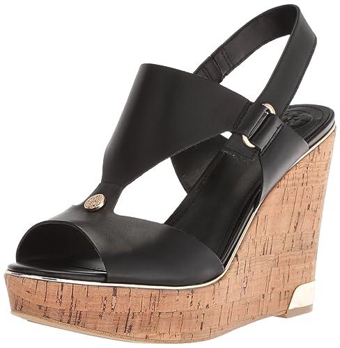 5ff81cdc3b4 Guess Women s Hulda Wedge Sandal  Amazon.co.uk  Shoes   Bags