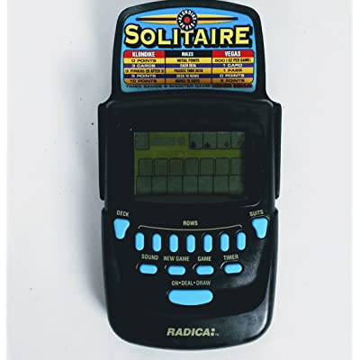 Radica Klondike/Vegas Solitaire Handheld Game Model# 3620 CS5BA: Electronics