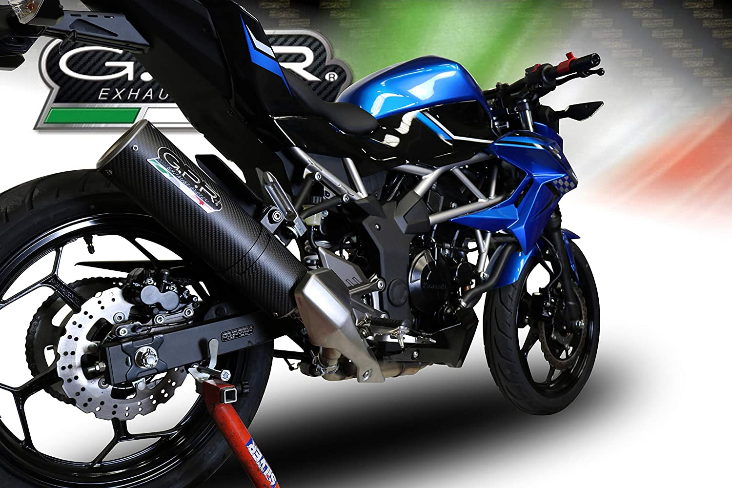 Amazon.com: GPR EXHAUST SYSTEMS K.171.RACE.M3.CA KAWASAKI ...