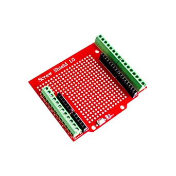 Proto Screw Shield for Arduino Open Source Reset Button D13 LED NEW