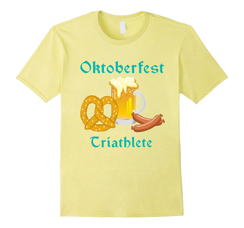 5719a0fa Oktoberfest Triathlete Food Beer Pretzel Shirt-CL – Colamaga