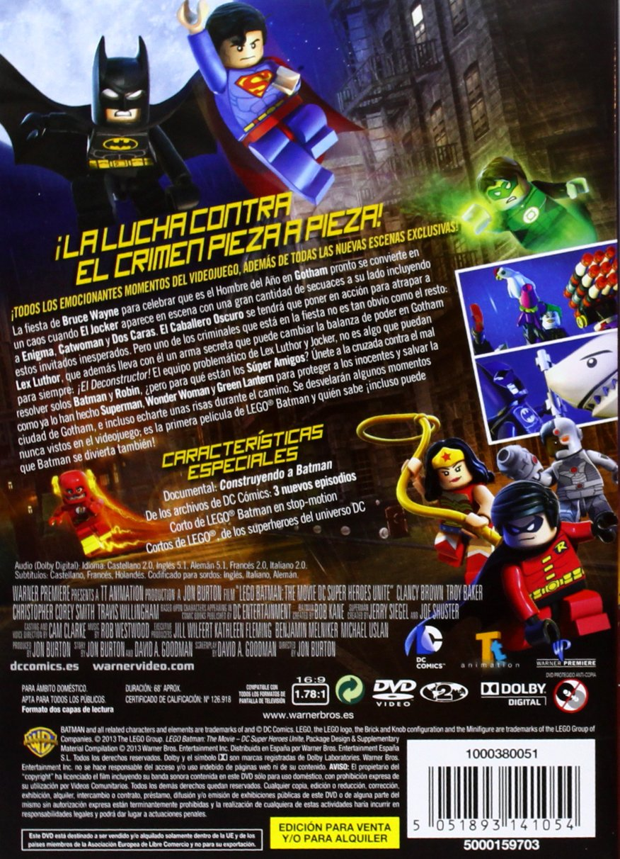 LEGO BATMAN MOVIE cartes nº 29-Action Aquaman