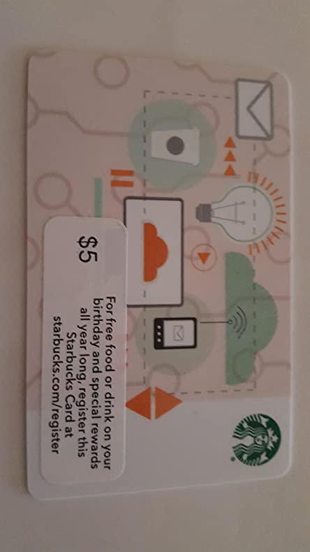 Amazon Starbucks Collectible Gift Card Technology Everything