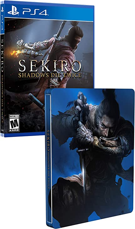 activision sekiro steelbook  : Sekiro Shadows Die Twice - PlayStation 4 + Steelbook ...