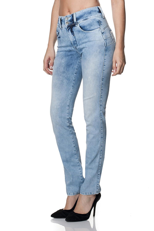 SALSA Light denim Slim leg Push In Secret jeans
