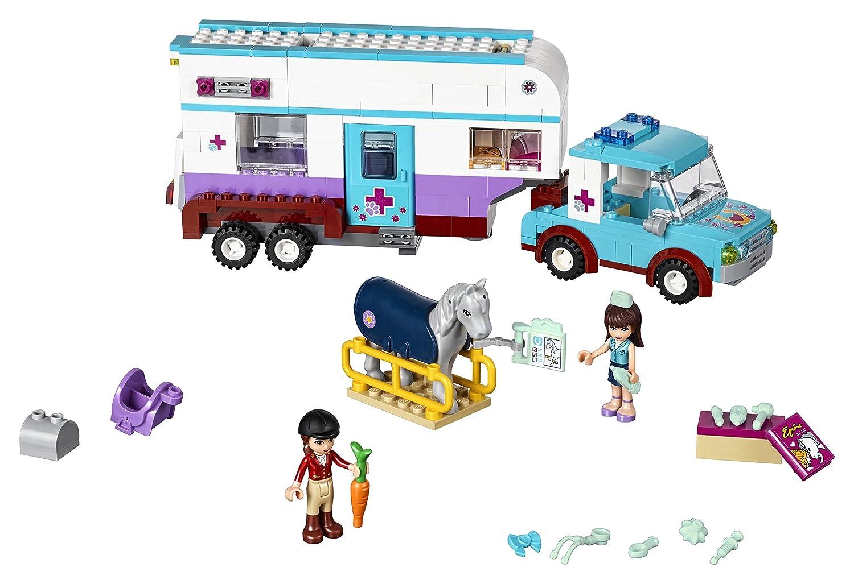 LEGO Friends - Remolque del Veterinario de Caballos (6136475): Amazon.es: Juguetes y juegos