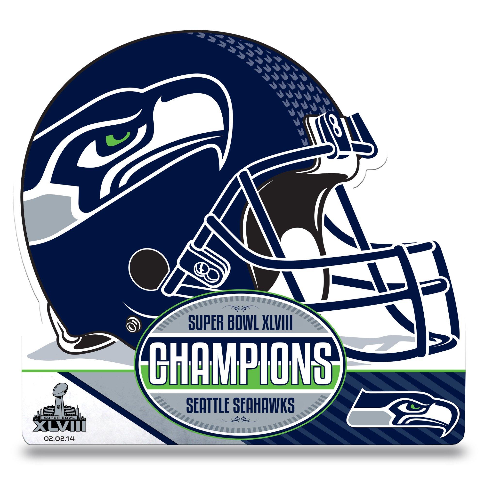 Rico Industries NFL 2014 Super Bowl XLVIII Champion Die Cut Pennant by Rico Industries
