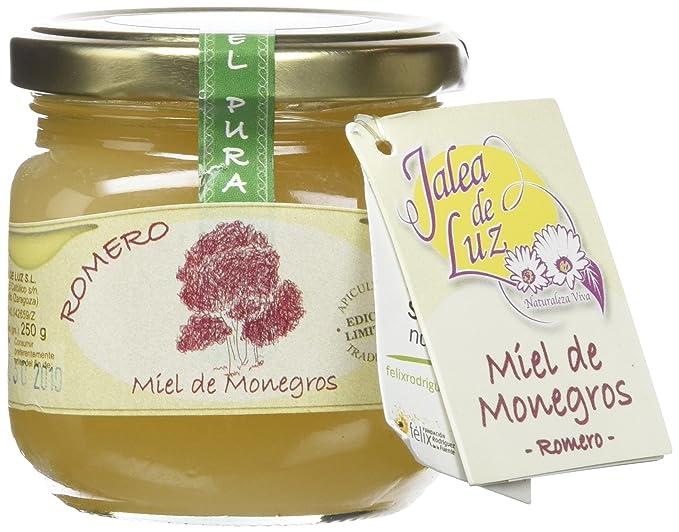 Jalea de Luz Miel Cruda Pura de Romero - 250 gr.