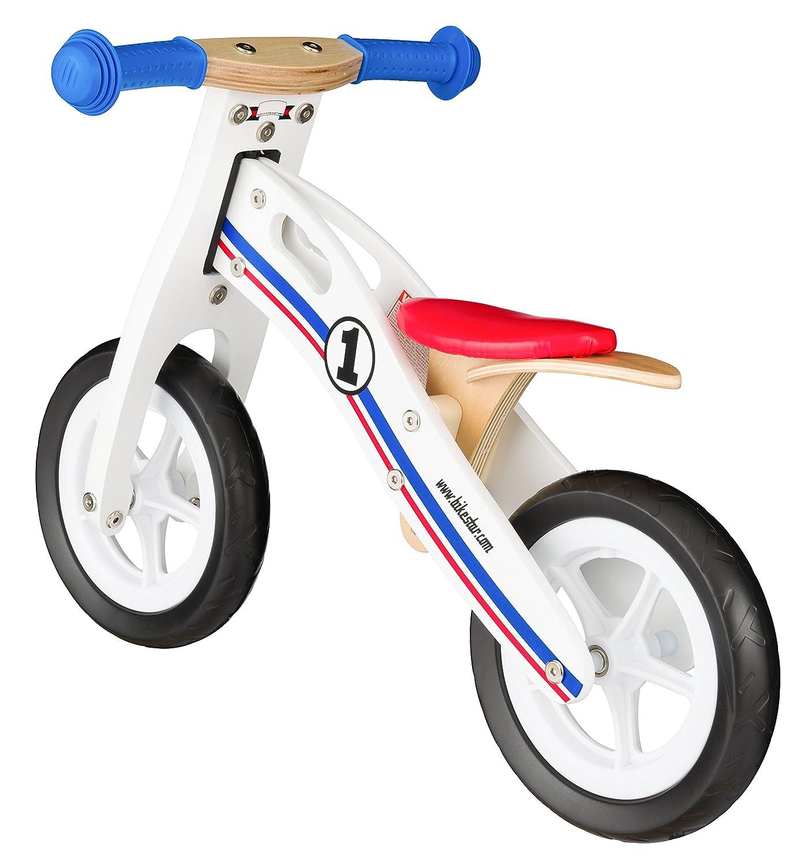 Bikestar Bicicleta sin pedales madera para niños ☆ 10 pulgadas ...