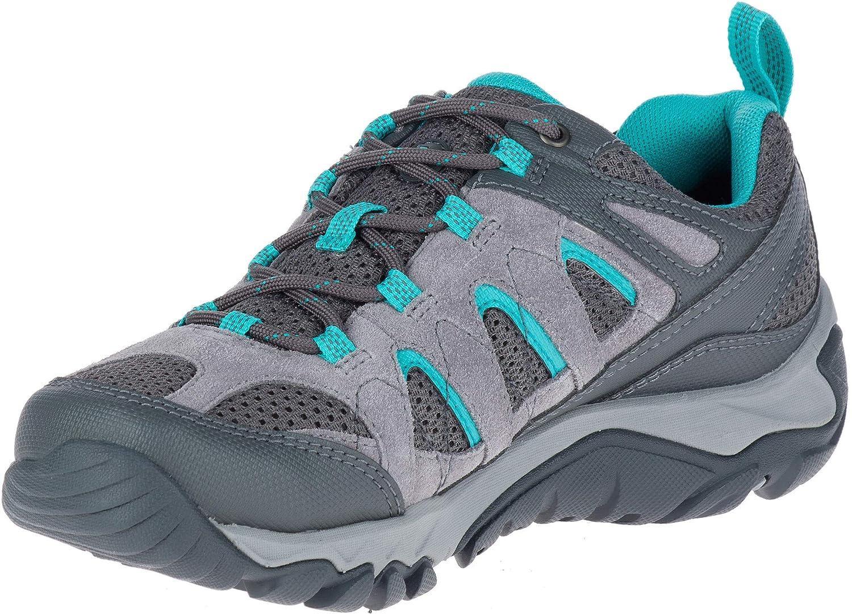 Frost gris 37.5 EU Merrell femmes chaussures Outmost Vent GTX noir