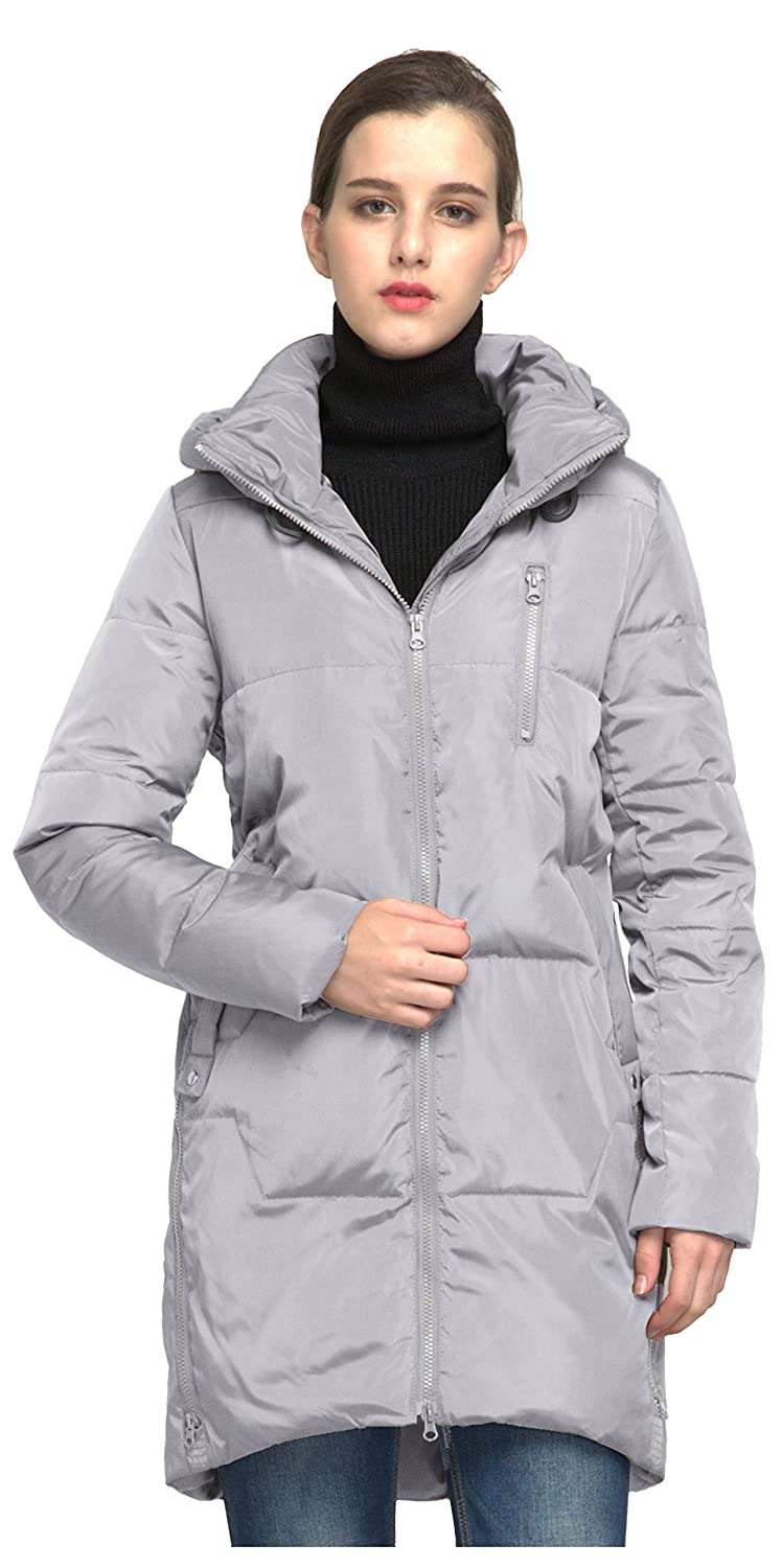 Orolay OUTERWEAR レディース B0762GWNBT S|グレー グレー S