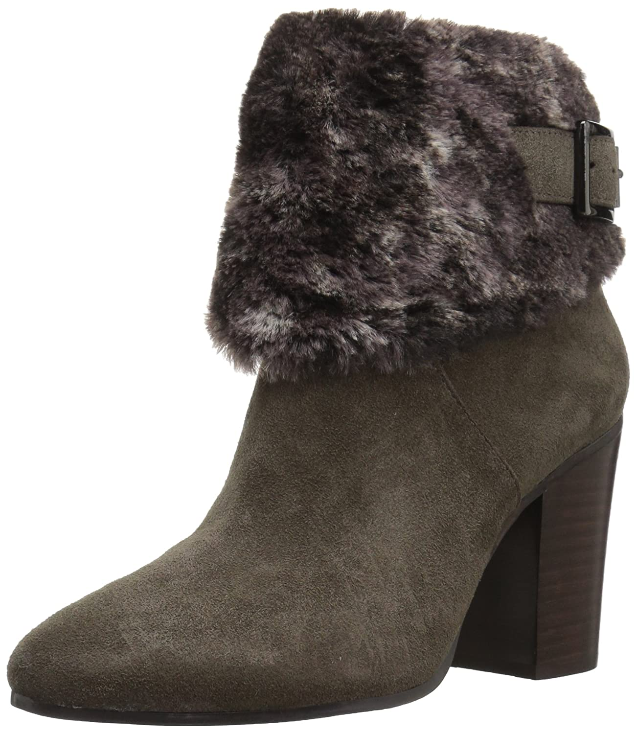 Aerosoles Women's North Square Ankle Boot B074GYY47N 8.5 B(M) US|Taupe Suede