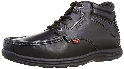 6627725f95 Kickers Reasan Lthr Am, Men's Ankle Boots, Black (Black), 6.5 UK