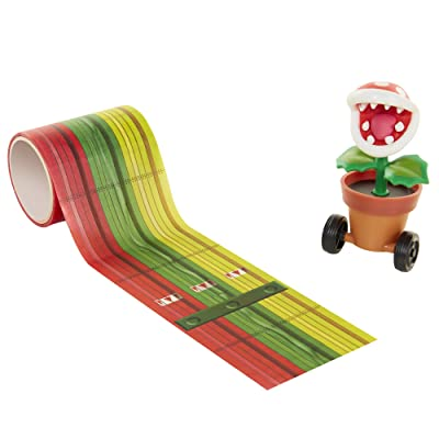 World of Nintendo Piranha Plant Tape Racer Vehicle: Toys & Games