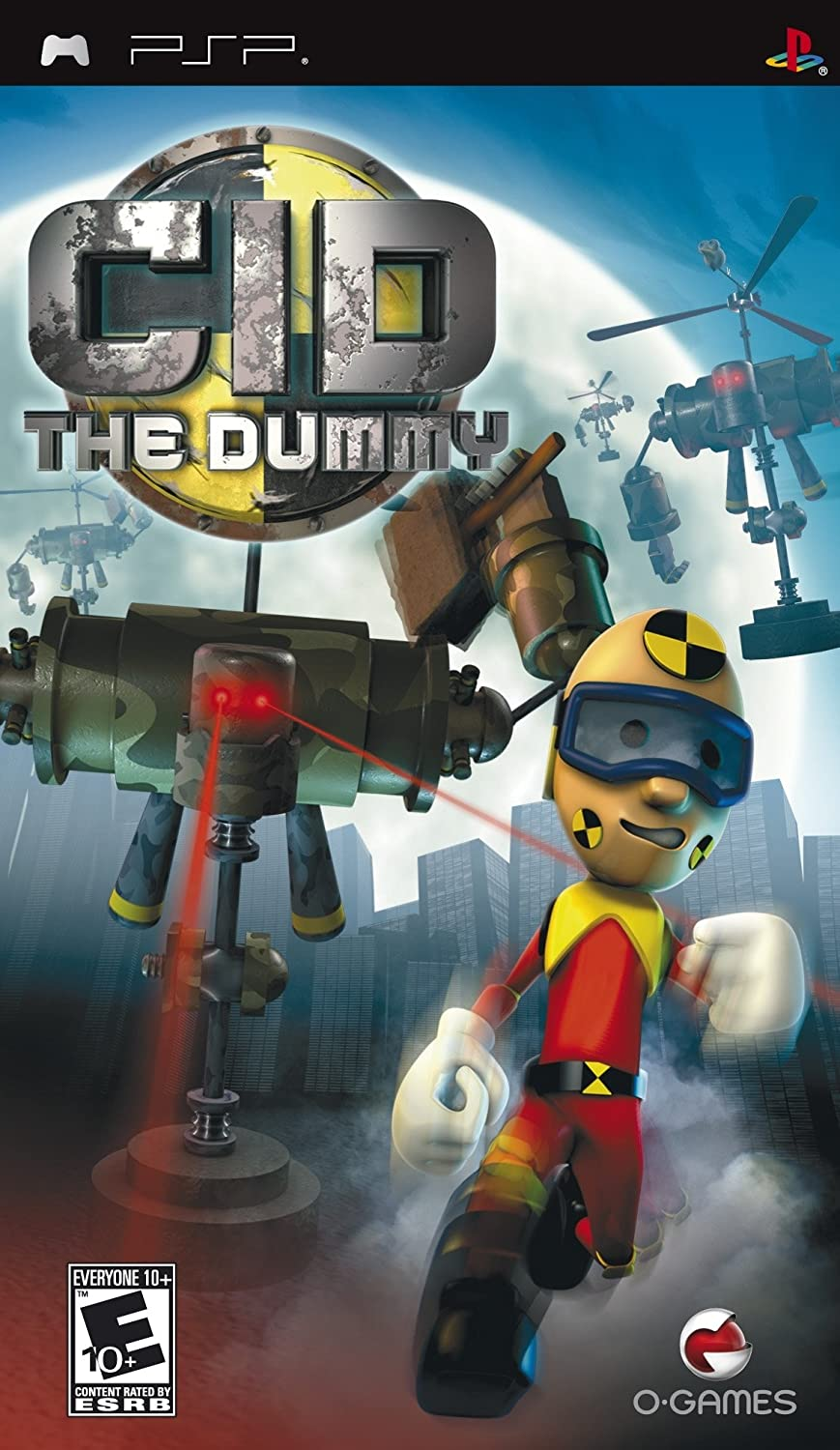 Amazon com: CID the Dummy - Sony PSP: Video Games