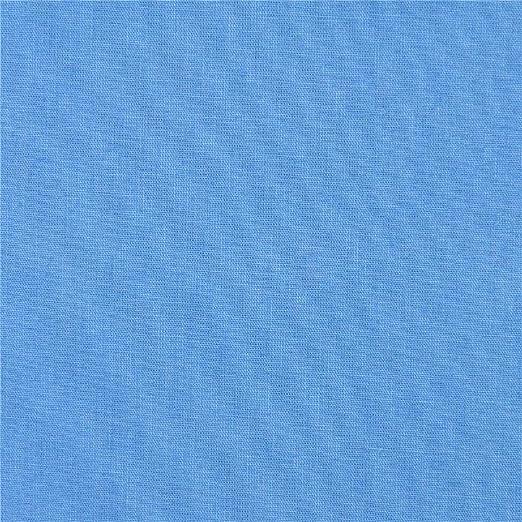 Tela lisa de algodón azul: Amazon.es: Amazon.es